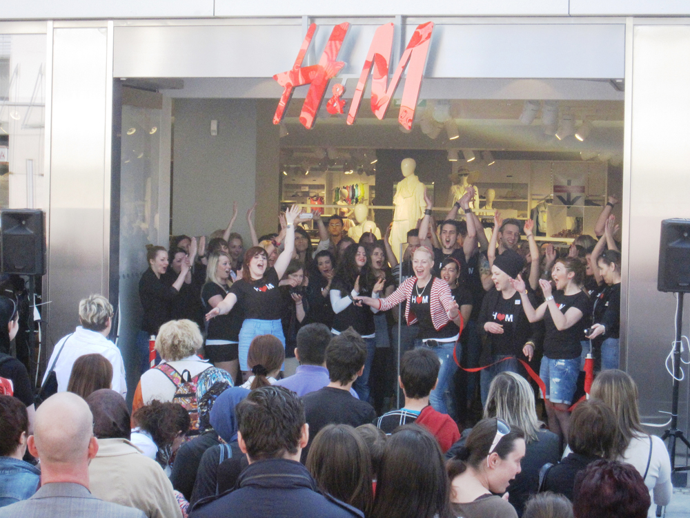 Eröffnungsfeier H&M (c) iandus