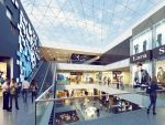 Recklinghausen Arcaden Visualisierung Mall (c) mfi